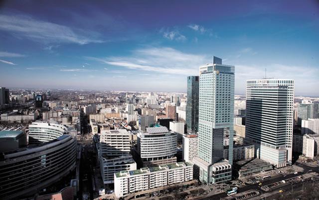 Варшава деловой центр