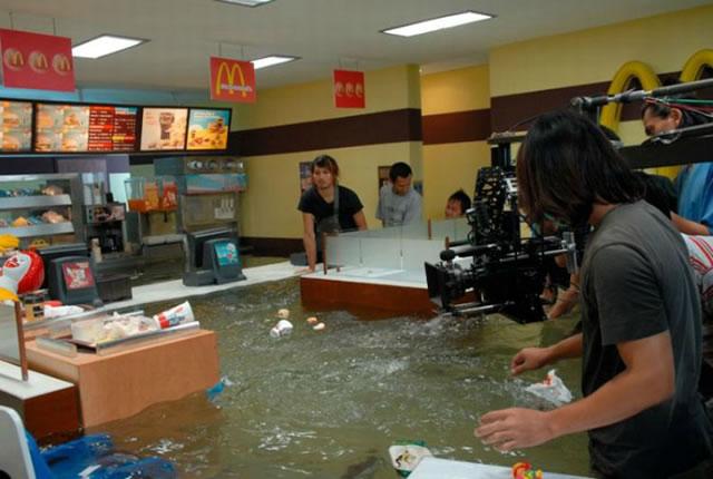 потоп в ресторане