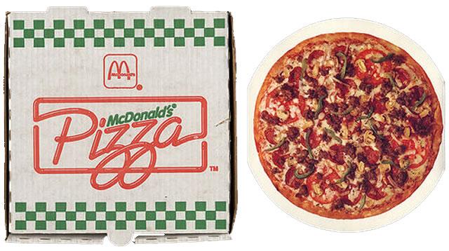 МакДональдс пицца - с чего всё начиналось