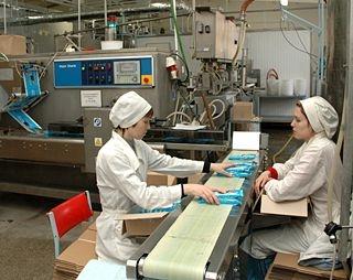 Завод по производству мороженого и полуфабрикатов