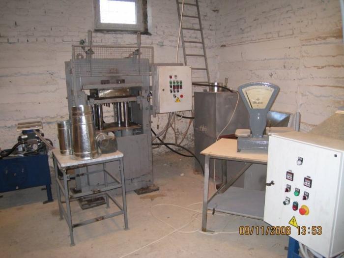 Линия по производству полимерпещаной продукции