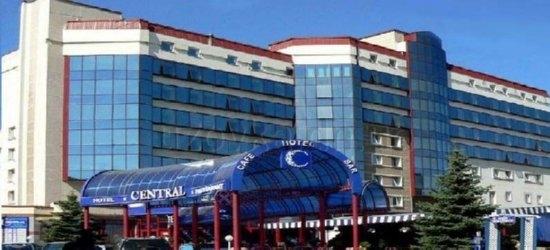 Отель «Централь» в центре Донецка