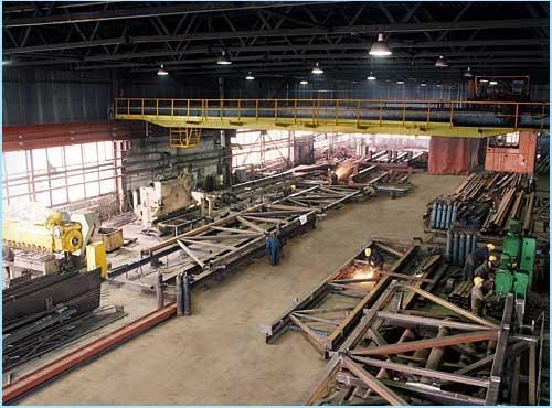 Производство и монтаж металлоконструкций.
