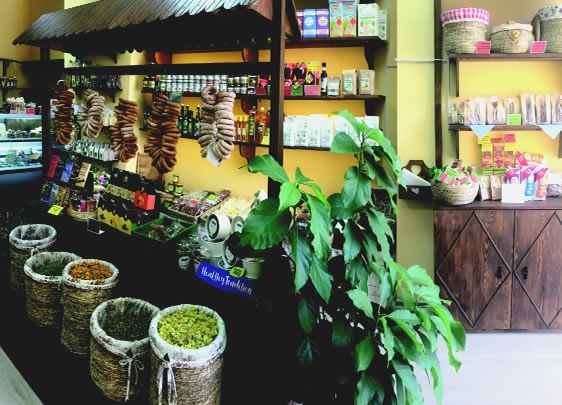 Красивый и простой в управлении бизнес: магазин здорового питания