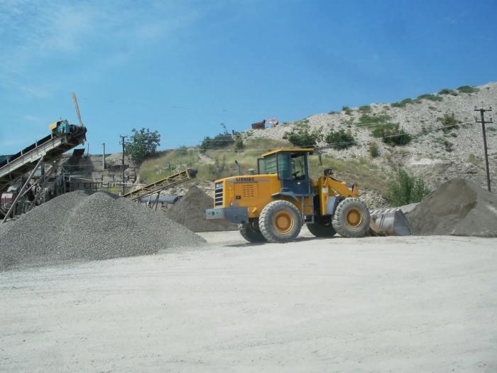 Бизнес в грузии: добыча и пр-во строительного щебня