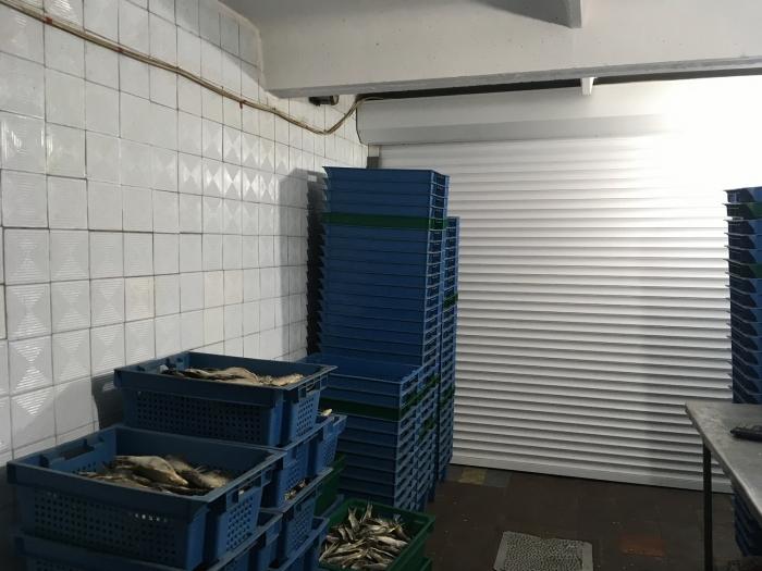 Цех по переработке рыбы
