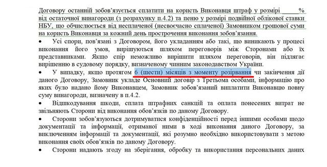 Договор купли продажи бизнеса в Украине