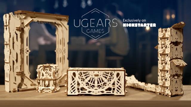 3D-пазлы украинский бренд Ugears кикстартер