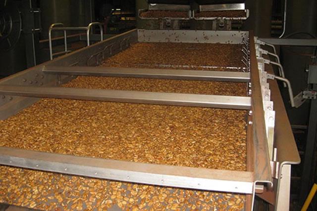 Оборудование линия для очистки ореха