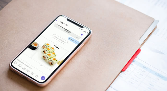 Viber бот qr-код ресторан хорека