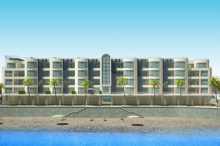 Проект коттеджного городка возле Алушты.