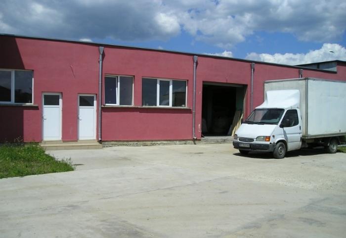 Цех производства пеллет, г.Сливен, Болгария.