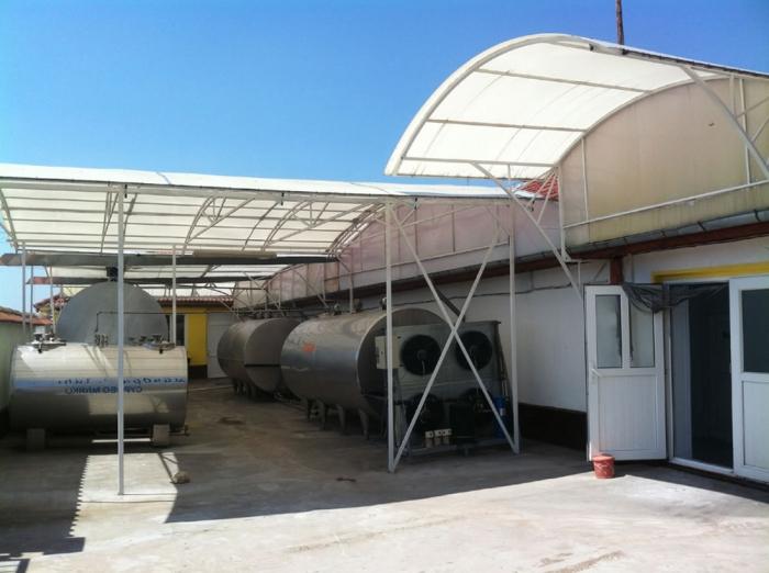 Молочный завод в Болгарии (г.Разград).