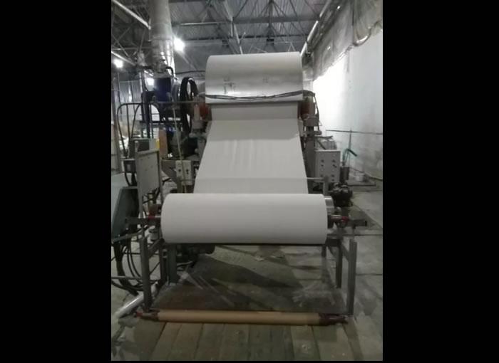 Бумагоделательная машина по производству туалетной основы