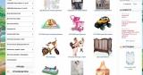 Раскрученный интернет магазин детских товаров