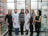 Салон красоты с магазином косметики, пригород Донецка