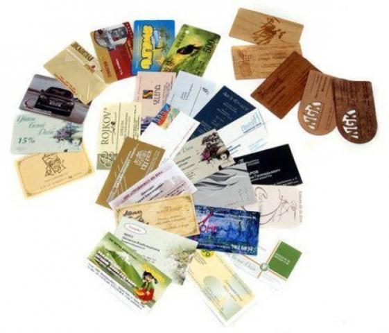 Как изготавливаются стильные и качественные визитные карточки?