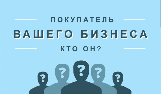 Покупатель вашего бизнеса – кто он? #1 (категории покупателей)